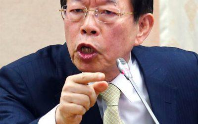 謝長廷代表為日本核食進口台灣積極奔走,安排陽明山夜會蔡政府大員,密商你准我進核食,我們請安被倍來台!這是什麼政府?