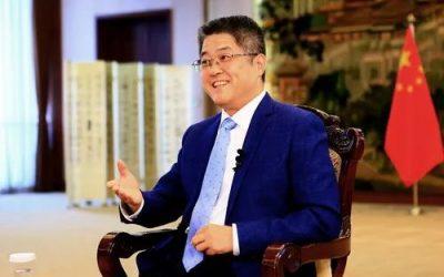 非常危險、中國外交部宣稱台灣是中國的紅線、奉勸老美切莫打台灣牌—