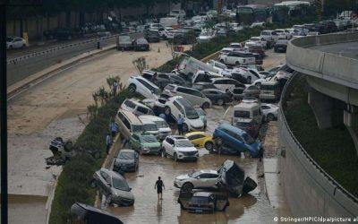 溫室效應,各地都是極端現象出現,中國與歐洲水漫城市,美洲大火肆摰—